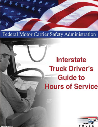 Interstate Truck Driver's Guide to Hours of Service